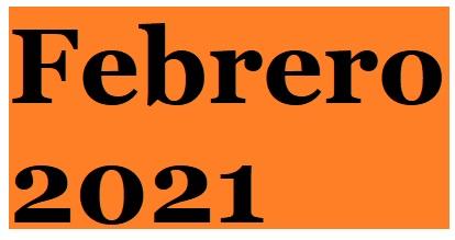 Proyectos Febrero 2021