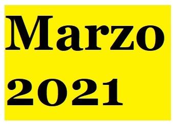 Periodo Parlamentario n* 139  – Marzo 2021